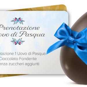 Voucher Uovo di Pasqua Fondente