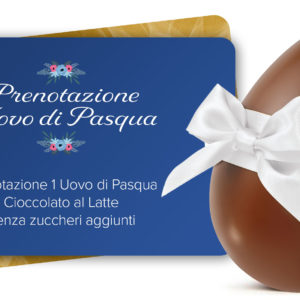 Voucher Uovo di Pasqua al Latte