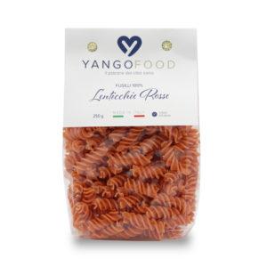 Fusilli lenticchie rosse Bio